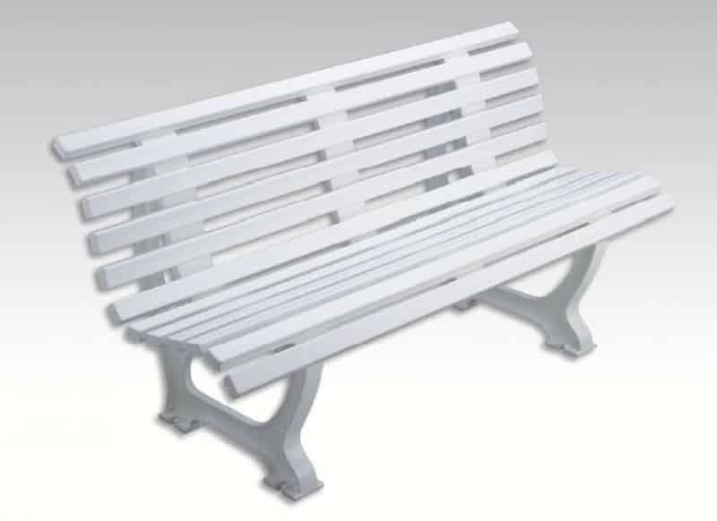 banc plastique 1m50 confort
