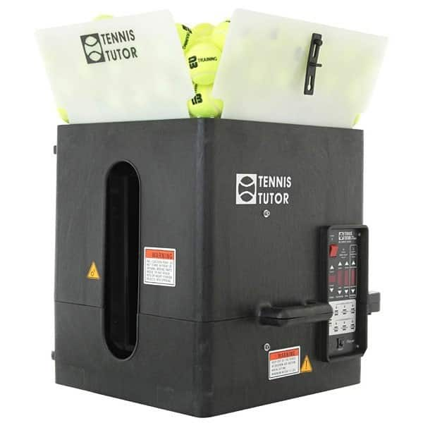 Lance balles sur batterie TUTOR 4 Plus Player + Télécommande