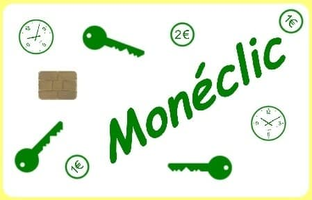 Lot de 25 cartes Monéclic