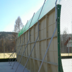 Mur d'entrainement parabolique